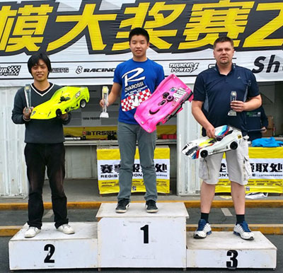 JJ at the Shanghai Nitro Series Round 1 – Mugen Cup